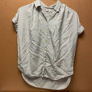 Madewell oversized central shirt size small